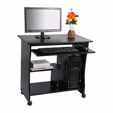 Modern Desktop Computer Desk Student Learning Writing Desk Computer Table Wooden Laptop Desk(China)
