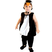 Anime Cute penguin jumpsuit Cosplay penguin Halloween gift Children Kids Flannel Animals Pajamas Cartoon Costumes kids Sleepwear
