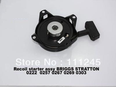 RECOIL STARTER ASSEMBLY FITS Briggs&amp;Stratton  0222 0257 0267 0269 0303  motor   CHEAP GENERATOR REWIND STARTER ASSY  PART<br>