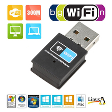 High Speed 300Mbps Mini USB Wifi Wireless Adapter 802.11 B/G/N Network Card LAN Dongle