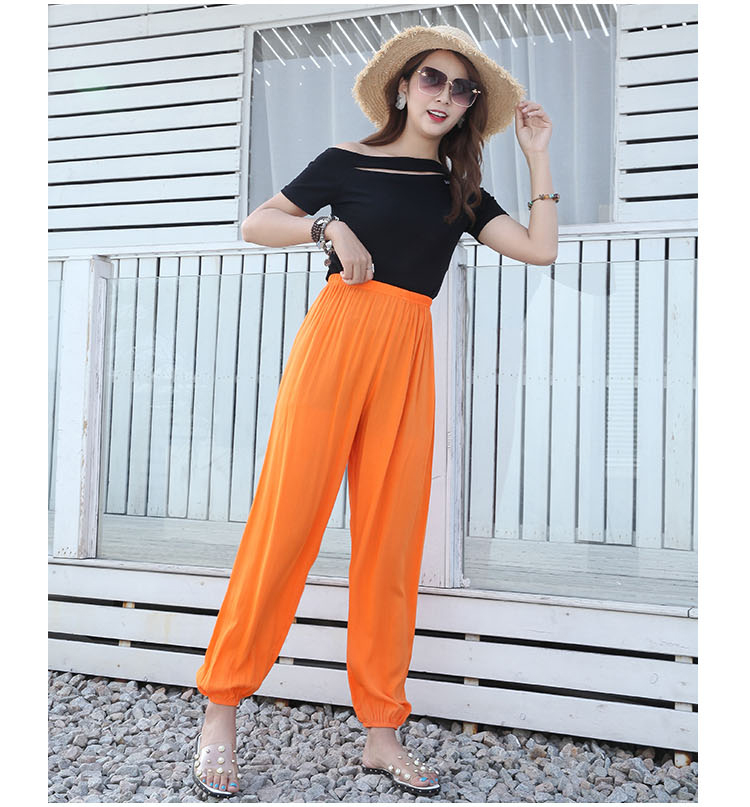 Baggy Pants Women Plus Size Women Pants 19 Summer Women Solid Color Casual Loose Harem Pants Trousers Pantalon Femme Pantalon 17