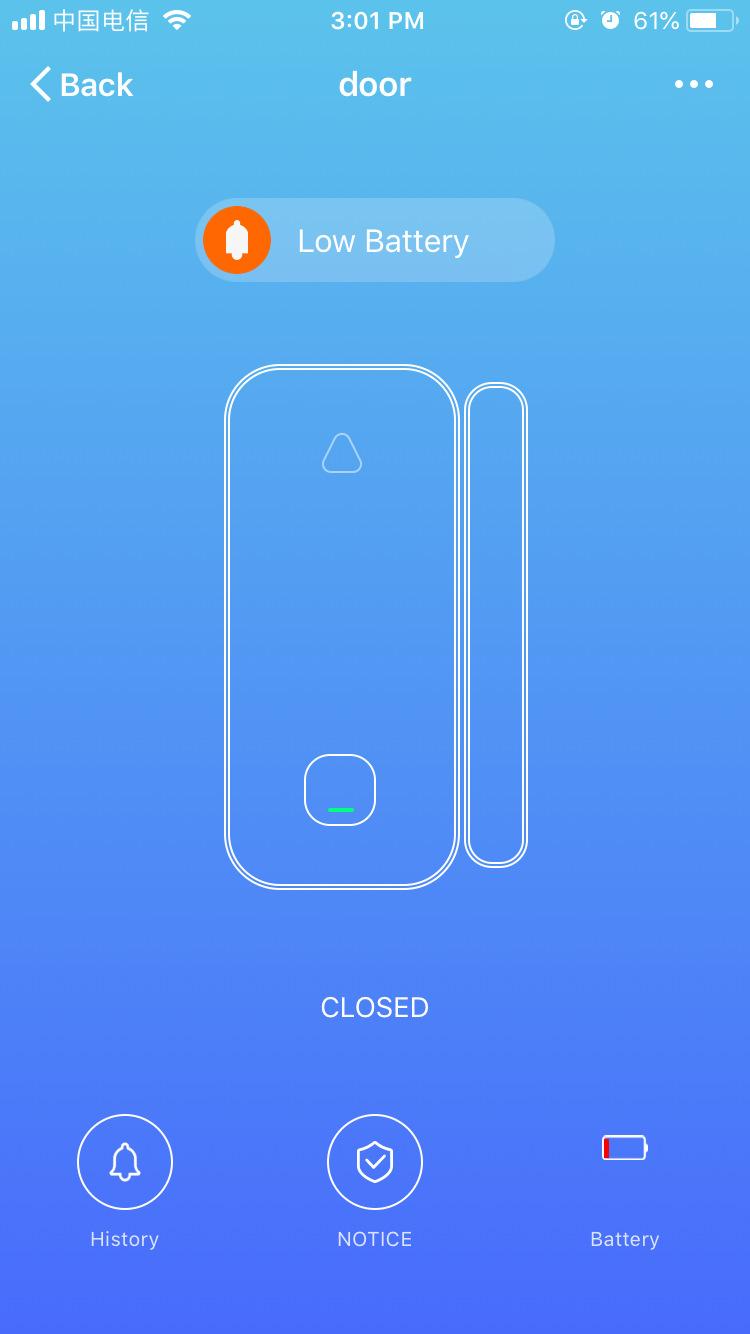 Wifi Door Sensor Window Sensors Alexa Google Home IFTTT Alarm Security Smart Life APP Wireless Remote Control(10)