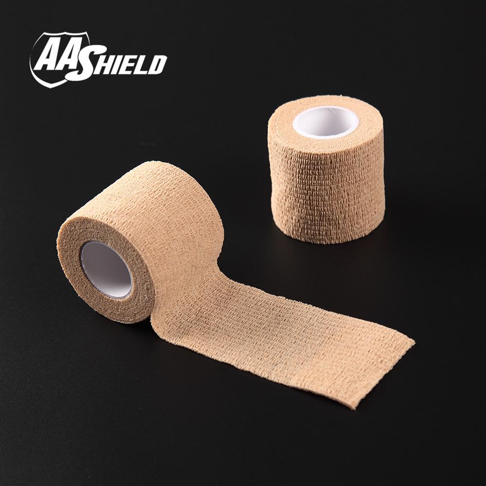 AA Shield Outdoor Camping bandage Camo Tape Military Rifle Covert Adhesive Multicolor /Gun Tan 3PCS Free Shipping<br><br>Aliexpress