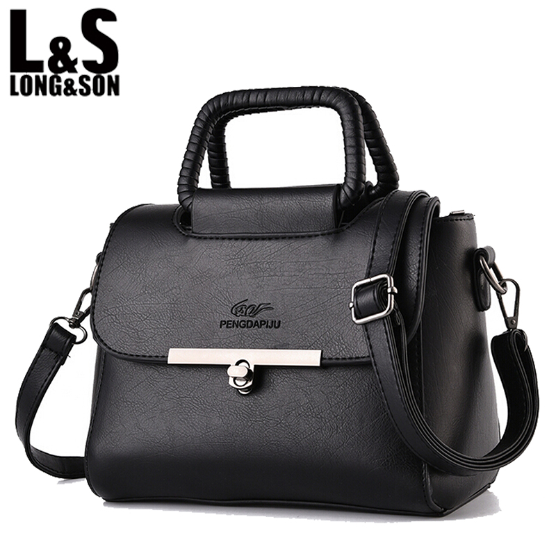 L&amp;S 2016 New Style High Quality PU Leather Women Long Strap Shoulder Bags Ladies HandBag Crossbody Bag with Clasp WB015<br><br>Aliexpress