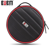 Bubm  CD bag case car CD bag   CD storage bag waterproof  cac put 32pcs CDs