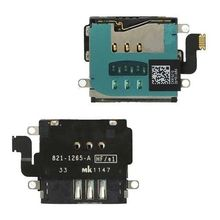 5Pieces Sim Card Holder Reader Flex Cable Replacement Part For iPad 3 4 WiFi/3G