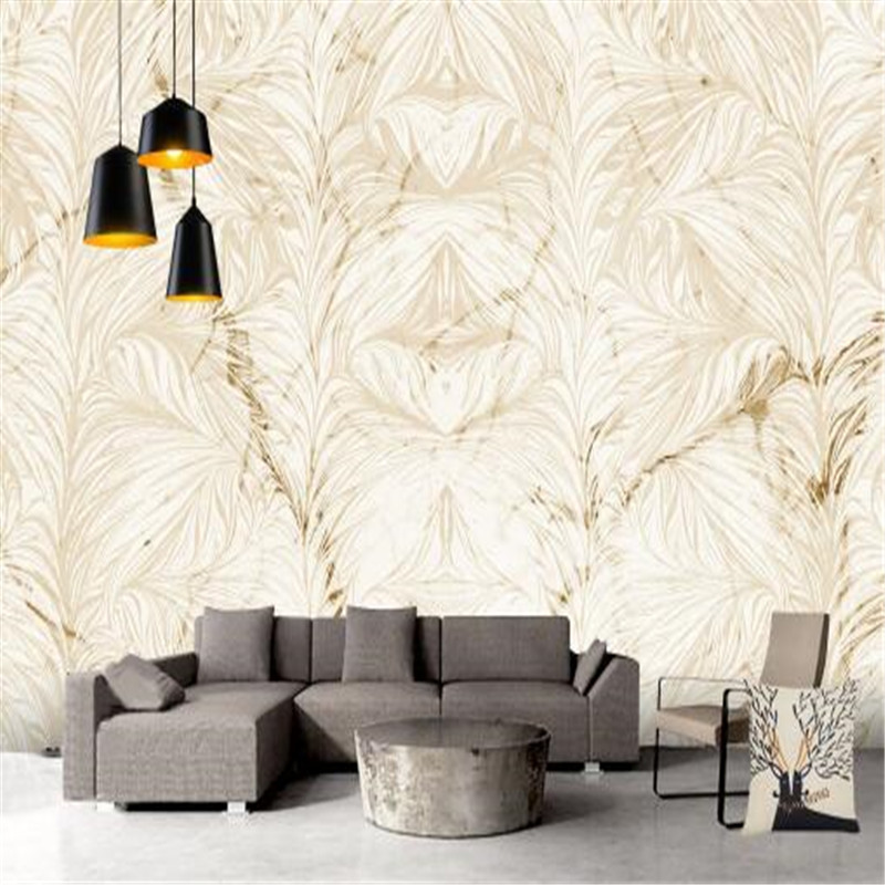Nordic Classic Custom Wallpaper 3D Marble Textured Photo Wall Mural Painted Wallpapers Wall Papers for Living Room Home Decor<br>