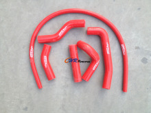 FOR Kawasaki KX500 KX 500 Silicone Radiator Hose 1989 1990-1999 2000-2004 Red