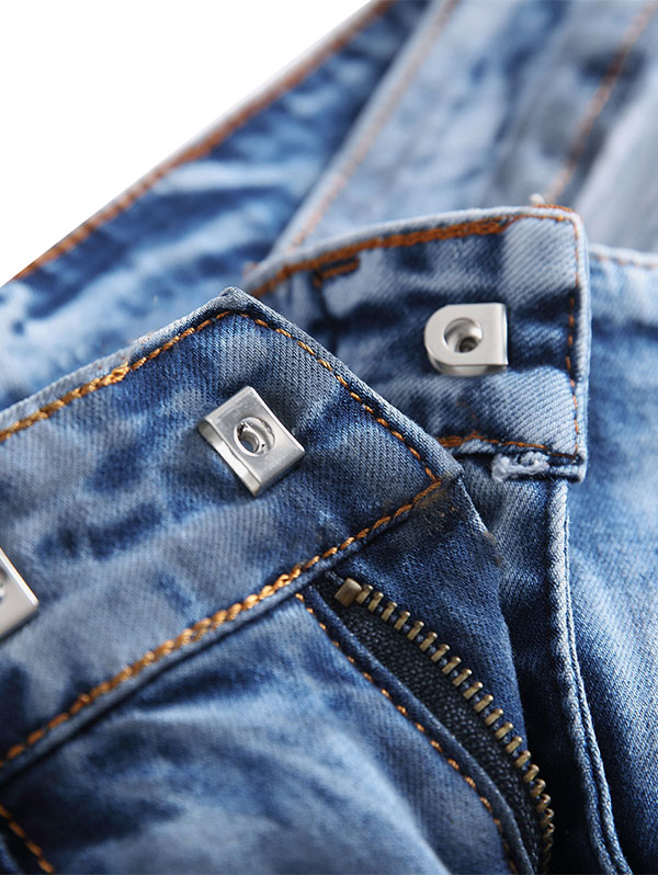 Botón De Hombres Gancho Pantalones Compre Los Vaqueros Con gby7Yf6
