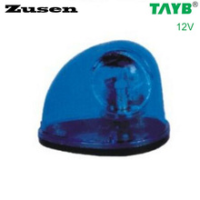 Zusen blue led TB1201 12V traffic barrier light signal warning Light Lamp magnet bottom(China)