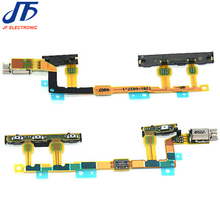 10pcs/lot Power On/Off + Volume Button + Vibrator Ribbon Flex Cable Ribbon for Sony Xperia Z3 Compact mini D5803 D5833 M55W(China)