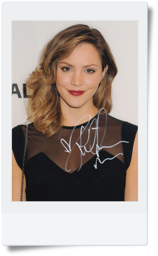 signed Katharine McPhee  autographed photo 7 inches  freeshipping  072017 04<br>