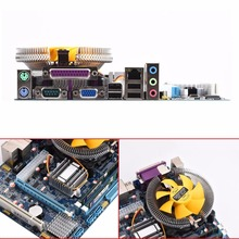 Motherboard CPU Set With Quad Core 2.66G CPU i5 Core + 4G Memory + Fan ATX Desktop Computer Mainboard Assemble Set(China)
