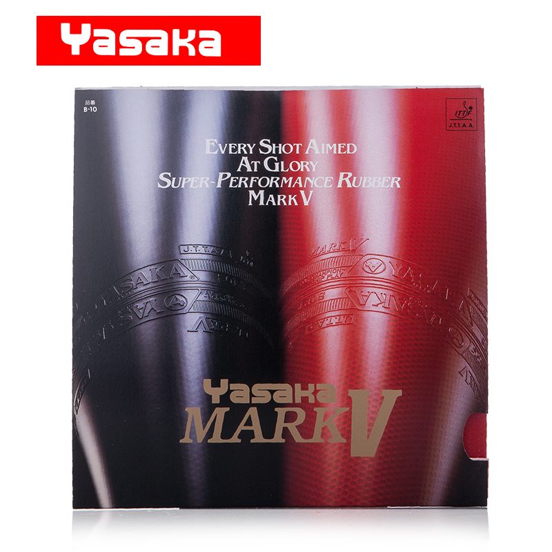 Yasaka Original MARK V Pimples In Table Tennis Rubber Pips-In Ping Pong Sponge Tenis De Mesa<br>