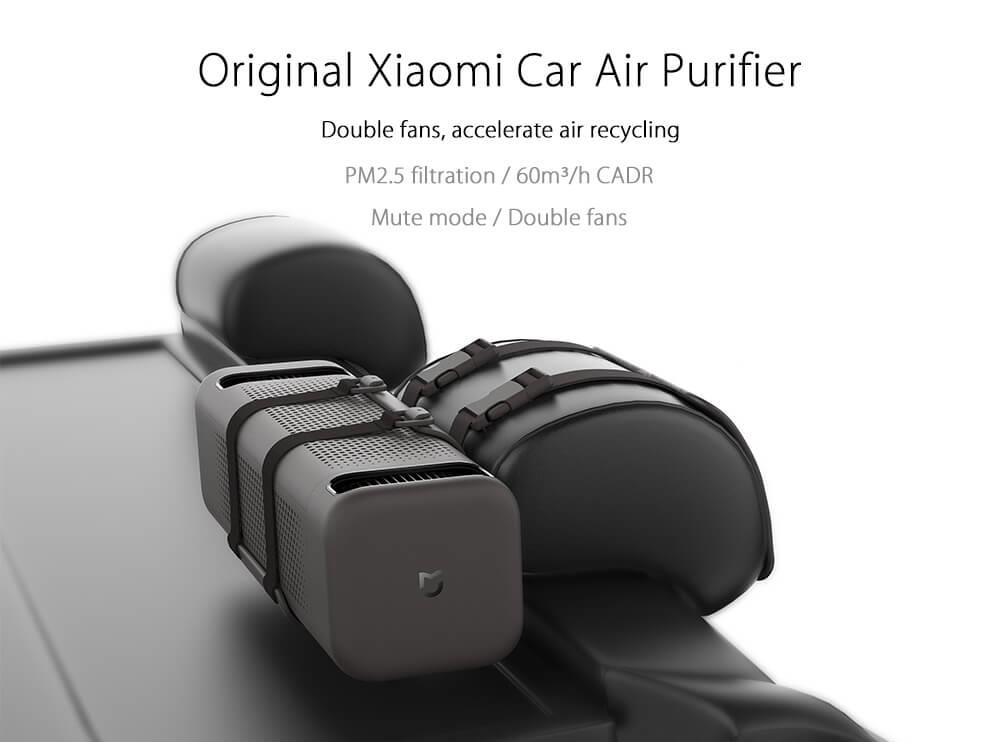 2018 New Original Xiaomi Car Air Purifier for car air cleaning In Addition To Formaldehyde Haze Purifiers Intelligent Household (1)