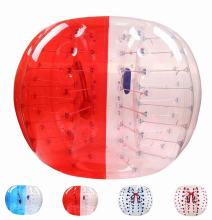 Big Discount 0.8MM PVC 1.5M Diameter Inflatable Bumper Ball Zorb Ball Football Human Knocker Ball Bubble Soccer For Adult(China)