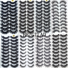 Makeup Extension-Eyelashes Maquiagem Dramatic Natural-Thick Long New5/10pairs 3D