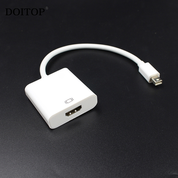 DOITOP HD 1080P Mini DP Thunderbolt to HDMI Cable Mini Display Port Male to HDMI Female Audio Video Cable Adapter For MacBook TV
