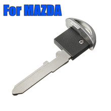 Uncut Smart Remote Emergency Key Fob Insert Blank Blade For MAZDA CX MX RX 04-13(China)