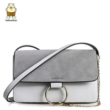 Beibaobao bags handbag for women famous brands messenger bags shoulder bag Design Matte Leather Women leather handbag b026/b