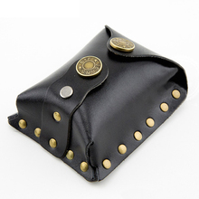 Hunting PU Leather Case Pouch Waist Bag For Outdoor Slingshot Steel Balls Games Pouch P15(China)