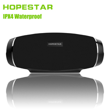 HOPESTAR H27 Rugby Wireless bluetooth speaker stereo soundbar waterproof shower Subwoofer Mp3 player tf usb for charge mobile(China)
