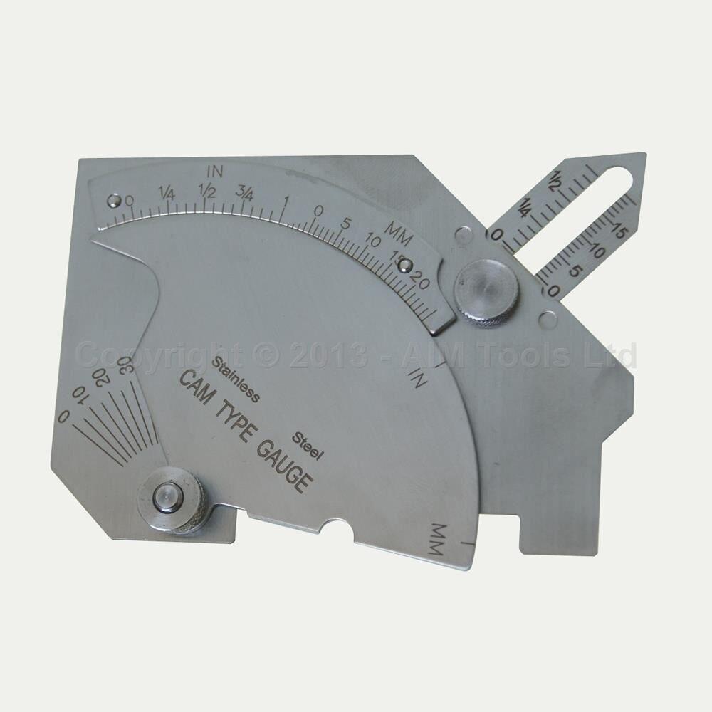 WELD Gauge Welding Gauge Tester Inspection Tool, Undercut Depth<br><br>Aliexpress