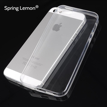 NEW High Definition Thin Transparent Dust-proof Soft TPU Cover Case For iPhone 4 4S 5 5S 5C 6 6S 6PLUS 6S PLUS Samsung S3 S4 S5