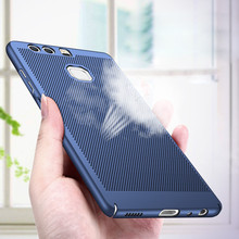 Oicgoo Heat Dissipation Phone hard Back PC Case For Huawei P10 P9 Lite P10 Plus Full Cover Case For Huawei P9 P10 Lite Cases
