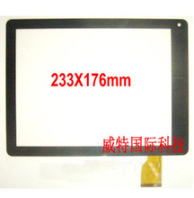 New Black touch screen for 9.7' inch Digma iDs10 3G Tablet ids 10 3G touch panel digitizer glass replacement Free Shipping(China)