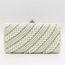 Women luxury purses and handbags ladies designer inspired handbag crystal evening clutch bags bridal glitter purse party mini