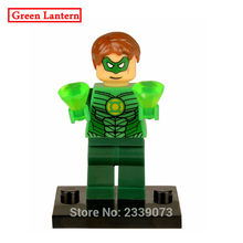 Green Lantern DIY blocks Single Sale DC Comics Super Heroes Batman Justice League Models & Building Toy Blocks For Children