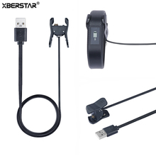 XBERSTAR Charging Clip Cradle Charger for Garmin Vivosmart 3 Activity Tracker Data Cable USB Charger