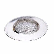 1Pcs Stainless Steel Sink Strainer Bathtub Hair Catcher Stopper Shower  Drain Hole Filter Trap Metal Bathroom