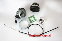 Racing Carb Carburetor Air Filter Assembly For 49cc 50cc 60 66 80cc 2 Stroke Gas Motorized Bike Performance New Carburettor