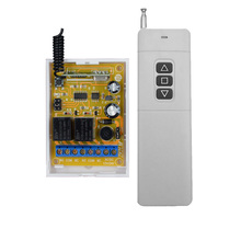 DC 12V 24V Receiver Motor Remote Switch Controller Motor Forwards Reverse Up Down 3000M Transmitter Limit Switch