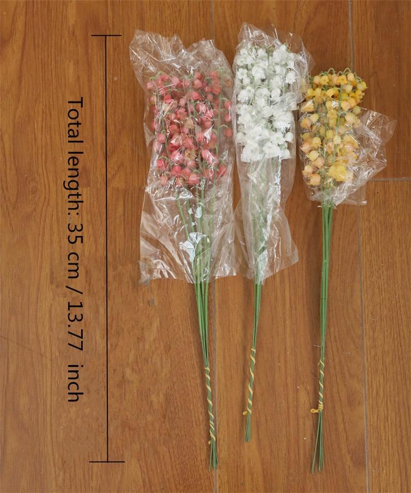 orchidee yulan zweig simulation blumen künstliche lily magnolia fake