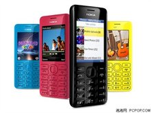 2060 Dual Sim Original Nokia 2060 206 2G GSM 1.3MP 1100mAh Unlocked Cheap Refurbished Celluar Phone Free Shipping