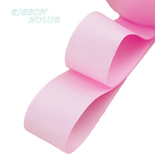 "(5 meters/lot) 1"" (25mm) Pink Grosgrain Ribbon Wholesale gift wrap Christmas decoration ribbons(China)"