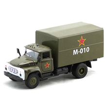 Collectible 1:32 Scale Military Diecast Truck Model & light sound Army Green Truck Military Model Toys