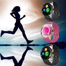 Bluetooth 3.0 Smart Watch Compatible With Android OS System Phone Support SIM Card Heart Rate Tracker For Samsung Xiaomi HTC