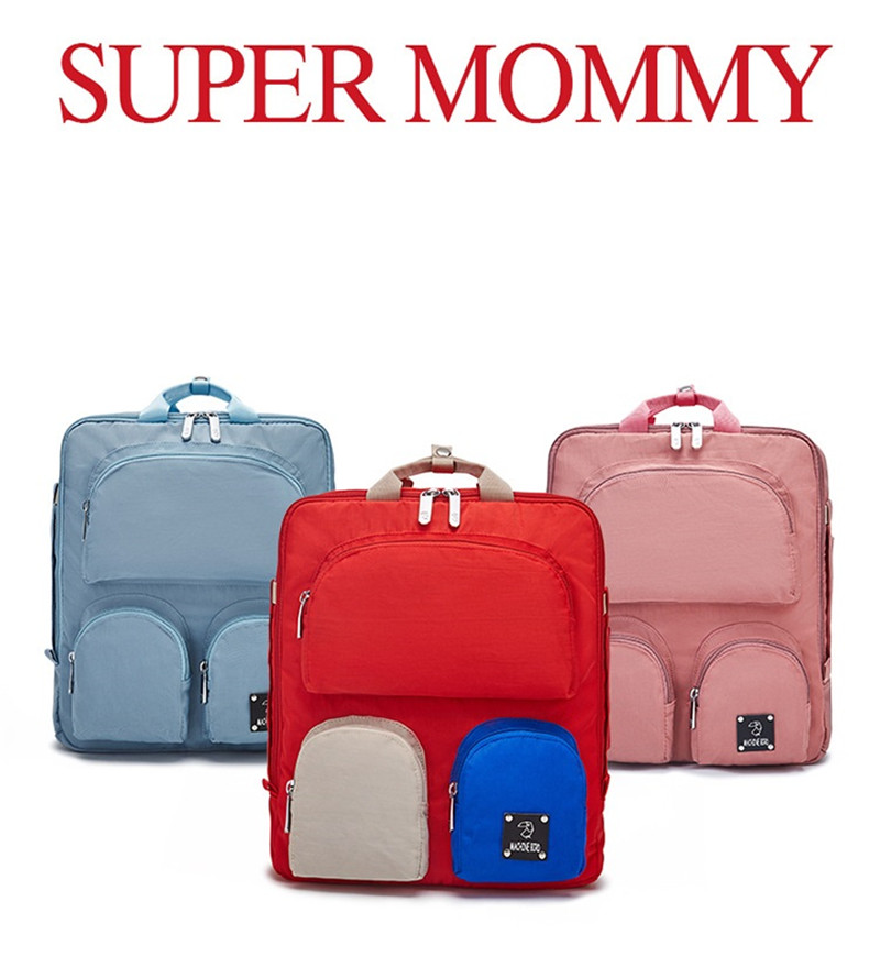 Big Discounts! Baby Diaper Backpack For Mommy Maternity Clothes & Baby Clothes Bags Newborn Bag Organizer Free Drop Shipping04
