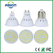 LED Bulb Lamp E27 MR16 GU10 220V LED Spotlight SMD2835 48leds 60leds 80leds High Bright Lamparas LED AC230V Spot Lampada LED