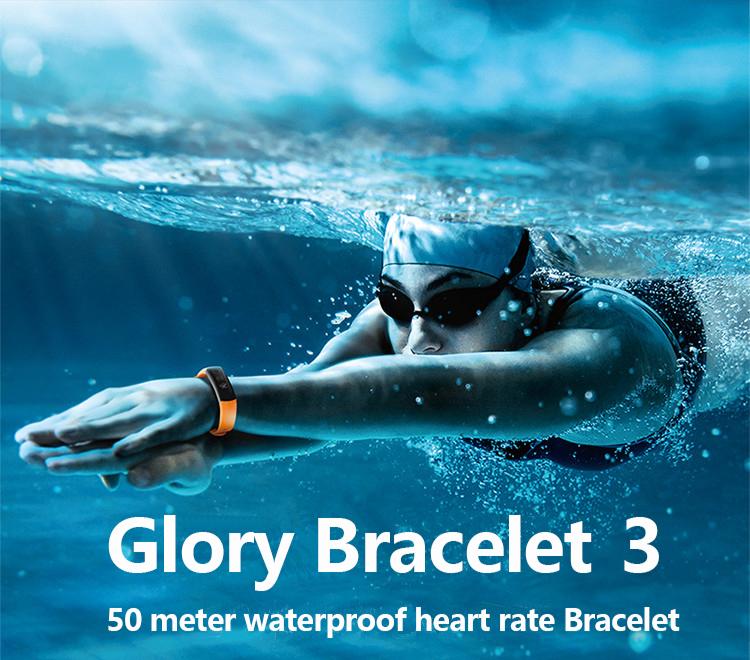 New original huawei glory Bracelet 3 Smart Bluetooth motion,heart rate,sleep monitoring,waterproof Wrist Watch For xiaomi 2 1