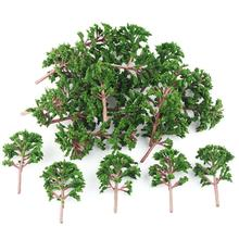 25pcs Banyan Trees Modal Road Park War Game Train Scenery Layout 9cm OO 1:75 Scale