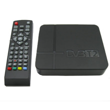 Mini Terrestrial Receiver HD DVB-T2 Set Top Box, Support USB HDMI MPEG4 H.264