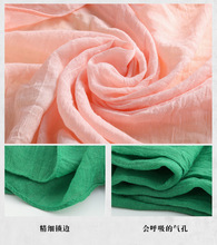 2017 Women Solid colors cotton linen big scarf Female Fashion  shawl & scarves