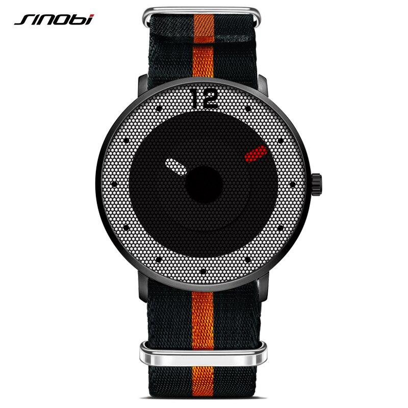 New Style Men Watches 2017 SINOBI Sports Military Watch Men NATO Nylon Watchband Chronograph Quartz Wristwatch Waterproof Hours<br><br>Aliexpress