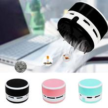Hot Style Mini Desktop Vacuum cleaner Dust Collector Laptop Notebook Computer keyboard Clean Brushes(China)