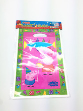 10PCS Kids Birthday Party Supplies Peppa Pig Gift Candy Bags